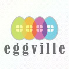 Egg ville logo #logo #design