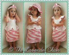 Valerie's Princess Dress - Free Crochet Pattern - The Lavender Chair