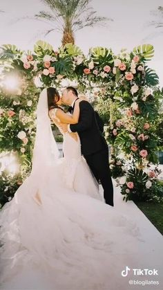 Wedding kiss as bride and groom photo is perfect! Get wedding inspiration from Cassey Ho of Blogilates. Interracial marriage, Asian bride, iconic wedding dress, unique wedding photography, 2021 wedding ideas Interracial Marriage, Interracial Wedding, Wedding Photography Inspiration, Wedding Inspiration, Wedding Ideas, Diy Wedding, Wedding Planning, Wedding Hacks, Wedding Simple