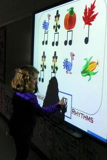 "November Rhythms (1st-2nd grade) Good way to intro the ""rhythm of the words"""