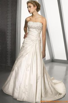 Robe princesse taffetas bustier robe de mariée collection