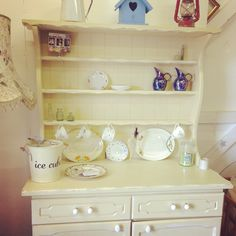 Jersey Cream Hand-painted Dresser