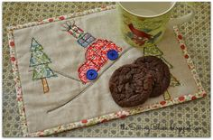 The Sewing Chick: Merry Mug Rug Blog Hop