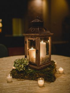 Light up the night with romantic lanterns. Take a look at these 15 beautiful lantern centerpieces for any wedding style.