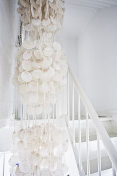 chandelier in staircase (Denmark)