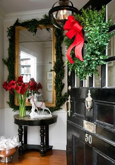 Just a little Christmas inspiration for your front door….