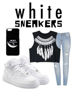 """""""Untitled #1096"""" by maragails-fashion ❤ liked on Polyvore featuring NIKE and WithChic"""