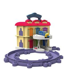 Another great find on #zulily! Stacktrack Double-Decker Die-Cast Roundhouse #zulilyfinds