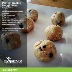 These protein bites pack a nutritional punch! Try this recipe today!