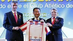 Grupo chinês compra 20% das ações do Atlético de Madri +http://brml.co/1BFAzIK