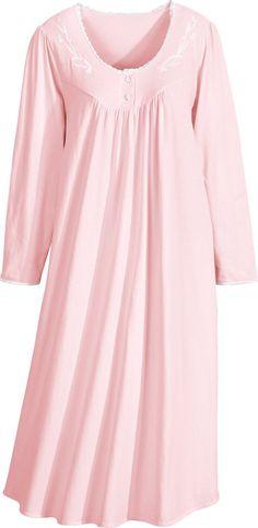 Women s Long-Sleeve Sweet Dreams Nightgown Sleepwear Women e3230774d
