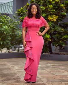 Joselyn Dumas Looks Magnificent In Pink Dress | General Entertainment | Peacefmonline.com