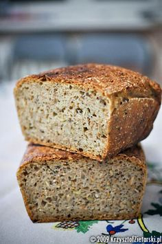 Thermomix Bread, Polish Recipes, Quick Easy Meals, Bread Recipes, Banana Bread, Food To Make, Food And Drink, Healthy Recipes, Brownies