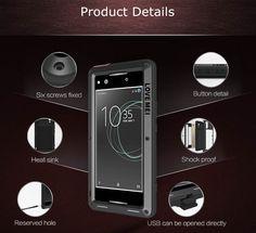 Love Mei Powerful Sony Xperia XA1 Ultra Protective Case