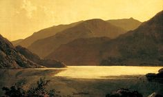 'That kind of beauty which is agreeable in a picture' ... detail from a painting of Ullswater by Joseph Wright of Derby. Photograph: Courtesy of the Wordsworth Trust