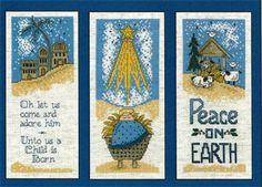 Nativity Trio - Cross Stitch Pattern