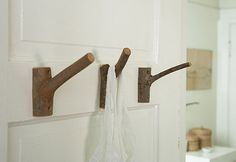 10 Coat Hooks of Distinction.    this one for a summer home or cabin? they are all cool!