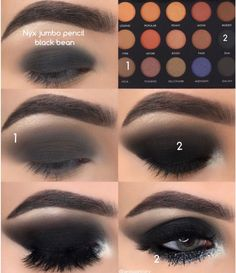 makeup looks How to get perfect Smokey eye 😍 Yay or Nay? Pic by the most amazi. How to get perfect Smokey eye 😍 Yay or Nay? Pic by the most amazing Smoky Eye Makeup, Eye Makeup Steps, Makeup For Brown Eyes, Black Eye Makeup, How To Smokey Eye, Smoky Eyeshadow, Brown Eyes Tumblr, Smokey Eye Makeup Tutorial, Black Eyeshadow Tutorial