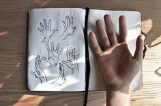 coltre:  I keep drawing hands because I miss holding yours