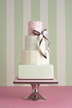 Beautiful pastel cake