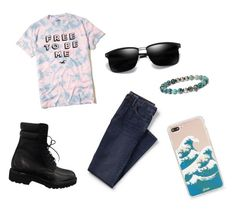 """""""Out of Style Boys"""" by prettyliarxs on Polyvore featuring Hollister Co., Lands' End, Yves Saint Laurent, Peyote Bird, Sonix, men's fashion and menswear"""