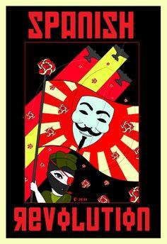 Cartel Spanish Revolution 3 Marca