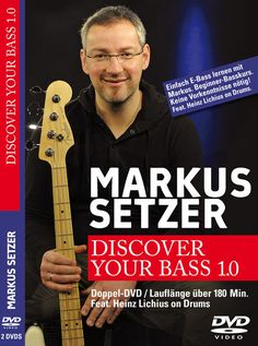 Markus Setzer Discover Your Bass 1.0 DVD - bass beginner tutorial by Markus Setzer