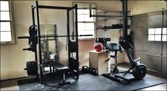 I am a huge advocate of the Crossfit garage gym movement. I have a gym in my garage and it's my favorite room in the house. It's convenient, there are no crowds