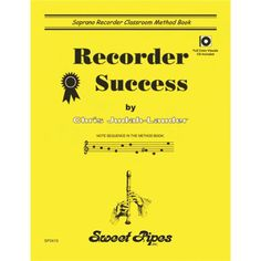Recorder Success - Book Only ( 839866), Recorder Song Books & Sheet Music for Kids | West Music