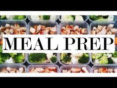 My Cheap, Quick & Easy Meal Prep! #MealPrepMonday - YouTube