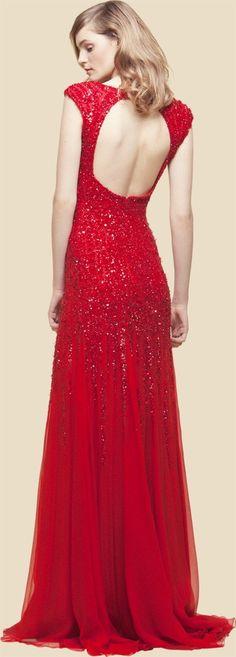 Gorgeous. #promdress #red #dress