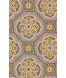 RugStudio presents Surya Alhambra ALH-5010 Gray / Yellow Hand-Tufted, Good Quality Area Rug