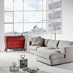 GRENADA szekrény 3 fiókkal 110x50x89cm Butler, Bauhaus, Grenada, Love Seat, Living Room, Furniture, Home Decor, Products, White Marble