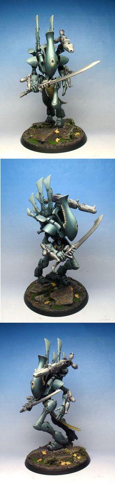 40k - CoolMiniOrNot - Eldar Wraithlord by Jamie