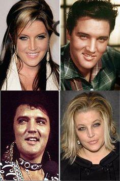 elvis lisa marie presley | Elvis & Lisa-Marie Presley - Sådan far, sådan dotter ...