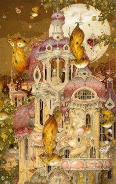 """""""Moon Chateau"""" by Daniel Merriam"""