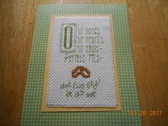 cross stitch wedding card etsy shop DebbyWebbysCards