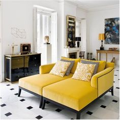 Amarelo na decor