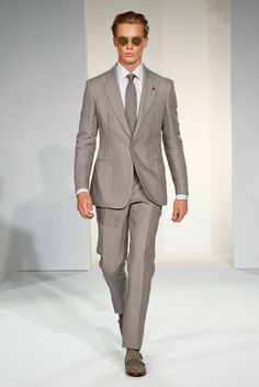 Gieves & Hawkes Spring 2015 Menswear - Collection - Gallery - Style.com