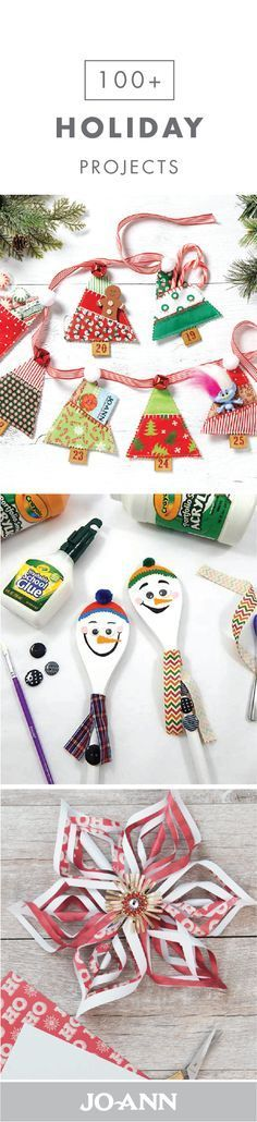 If you're anything like us, then the Christmas season is the perfect time for DIY crafts! So, when the weather gets chilly, check out this collection of 100+ Holiday Projects. Tackle everything from getting your home adorned with festive decorations to making the perfect homemade gift for a close friend or family member with these wonderful activities.