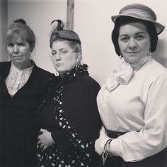 "Mary Campbell, Viv Vassar, Margaret chase in ""inadmissible"" about Lizzie Borden at the 2016 Staten Island Grand Guignol"