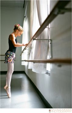 Ballet Photography : First Day en Pointe {Allison : Passion Session} - by Natalie Moser Photography