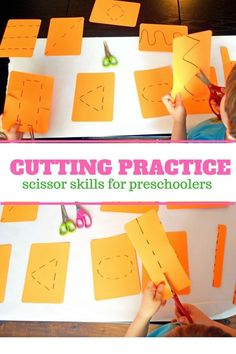 – A Super Popular Breakfast Invitation — Days With Grey Fine Motor Cut! – A Super Popular Breakfast Invitation — Days With Grey,Daycare Preschool cutting practice and scissor skills for fine. Preschool Cutting Practice, Preschool Lessons, Preschool Learning, Learning Activities, Learning Shapes, Teaching, Dementia Activities, Preschool Ideas, Fine Motor Activities For Kids