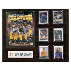 C & I Collectables NBA 16 x 20 in. Cleveland Cavaliers 2015-2016 NBA Champions Plaque - 1620NBA16