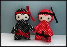 little ninja by love from annie