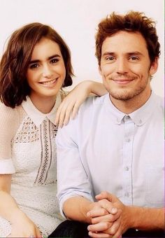 Lily Collins & Sam Claflin SUCH BEAUTIFUL PEOPLE GOSH