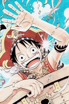 One Piece Manga Caps | via Tumblr