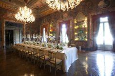 Vintage setting in Villa Erba, Italy #Collection26
