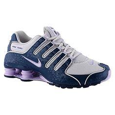 Shox NZ Cuir Chaussures de course