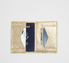 thisisground - WWT Passport Wallet - Gold
